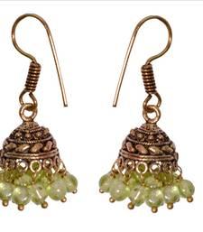 Buy Multicolor beaded jewellery jhumkas jhumka online