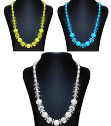 Buy Triple Treat Combo Pack of 3 Chic Necklace Chain jewellery-combo online