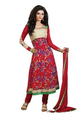 Triveni Astonoshing Faux Georgette Indian Designer Salwar Kameez TSXGTSK2104b