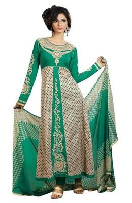 Triveni Astonoshing Cotton Indian Designer Embroidered Salwar Suit TSXGTSK2108a
