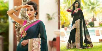 Riti Riwaz Special Collections Stylish & Attractive Pattern in Bollywood Replica with Latest Lace & Patch Work B-17