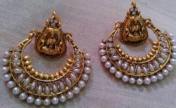 Ram Leela Pearl Earings