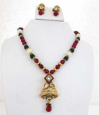 Antique Bell Necklace Set
