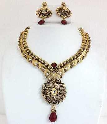 Antique Design Necklace Set