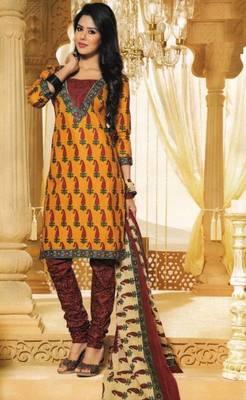 Dress Material Elegant Cotton Printed Unstitched Salwar Kameez Suit D.No M1613