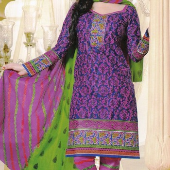 Dress Material Elegant Cotton Printed Unstitched Salwar Kameez Suit D.No M1630