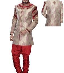 Buy multicolor silk stone sherwani jodhpuri-sherwani online