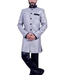 Buy silver jute indo western dresses indo-western-dress online
