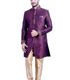 Buy multicolor brocade resham handwork indo western dresses indo-western-dress online