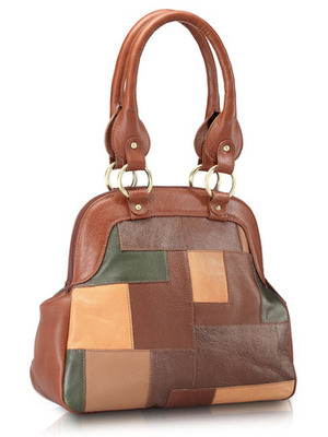 """Phive Rivers-Ayaka, Genuine Leather Women Shoulder Bag with colour : """"Multi color"""""""