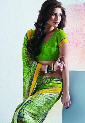 Saree With Unstitched Blouse (15003)