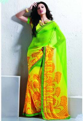 Saree With Unstitched Blouse (15009)