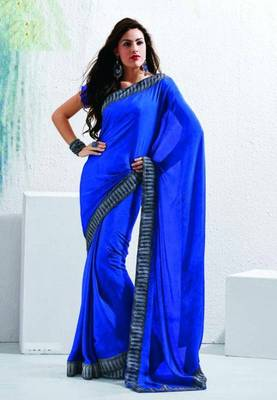 Saree With Unstitched Blouse (15013)