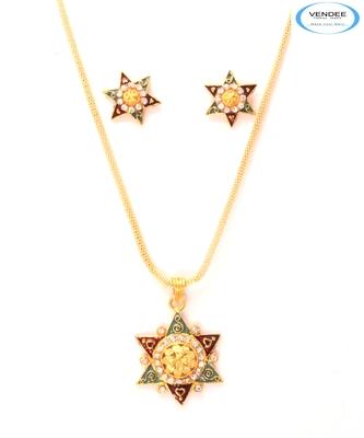 Brass fashion pendant jewelry