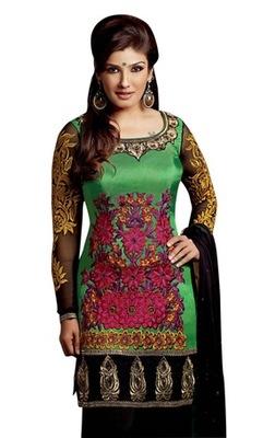 Triveni Raveena's Heavy Embroidered Salwar Kameez TSFLSK5012