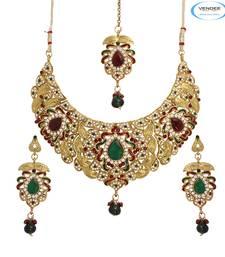 Buy Bridal wear necklace jewelry Online