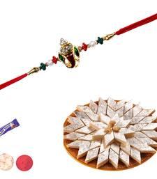 Buy Kaju katali with divine rakhi divine-rakhi online