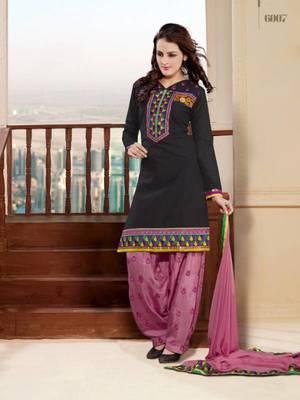 stylist embroidery design work salwar suit
