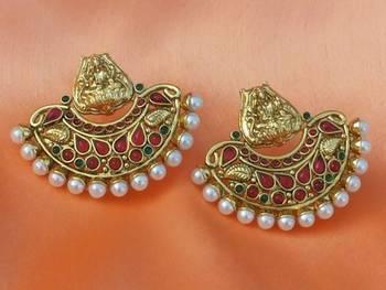 lovely temple earrings
