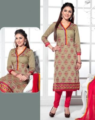 semi stitched salwar kameez with duppatta