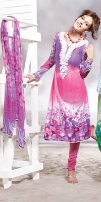 Cotton Embellished Salwar kameez Dress Material SC8137B
