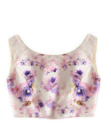 Buy Multi colour raw silk embroidered unstitched blouse fabric blouse-fabric online