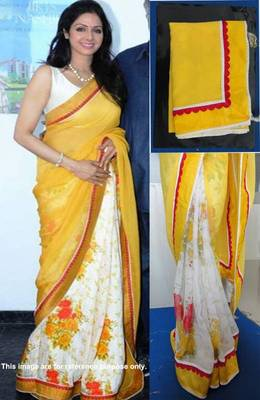 Sri devi Fenta queen saree