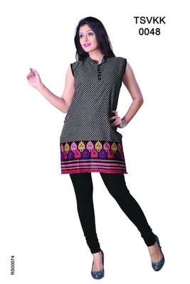 Triveni Fancy Casual Wear  Summer Cotton Kurti 0048