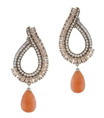 Royal Orange Fresh Earrings