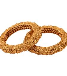 Buy Nice Gold plated antique bangle bangles-and-bracelet online