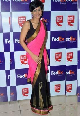 Mandira Bedi Bollywood Replica Saree