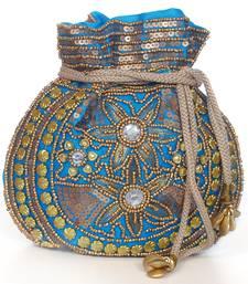Buy Party,Ladies,purse,bag,evening bag,gift,Mehendi,mehndi,marriage,gifting, purse,Ethnic,Indian potli-bag online