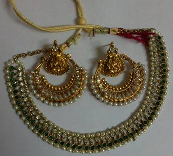 Designer Ram Leela Necklace set