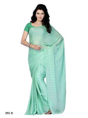 Engaging Casual wear fancy saree by DIVA FASHION-Surat