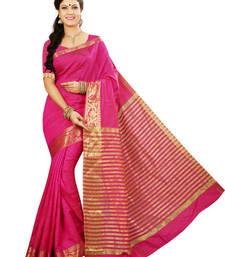 Buy Rani woven tussar_silk saree With Blouse tussar-silk-saree online