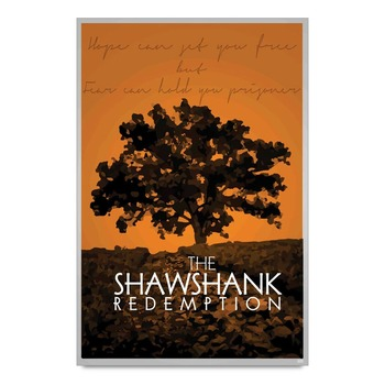 The Shashwank Redemption Quote Poster