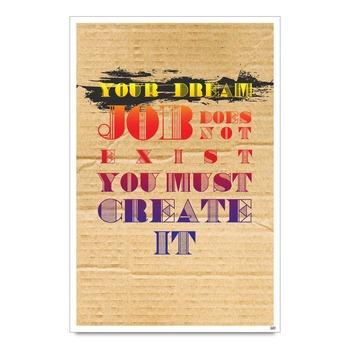 Dream Job Quote Poster