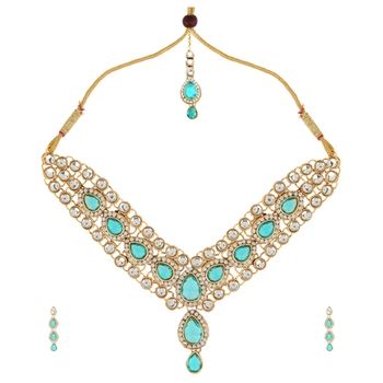 Kundans jewellery sets kundan stone necklace set bridal jewellery