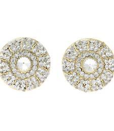 Buy Pearly Stud Diamond Earrings stud online