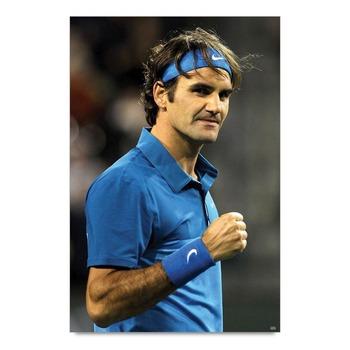 Roger Federer Celebration Poster
