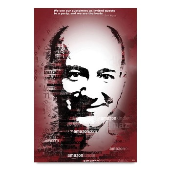 Business Mantra By Jeff Bezos Poster