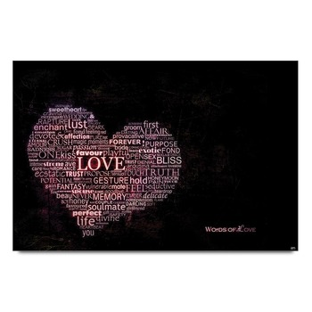 Words Of Love Poster