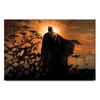 Batman With Bats Poster