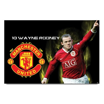 Wayne Rooney - Manchester United Poster