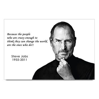 Steve Jobs Quote Poster