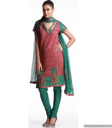 Buy Ultimate Cotton Suit With Thread Embroidery salwars-and-churidar online