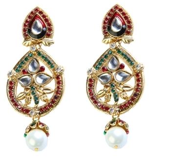 Dealtz Fashion Striking Shine Festive Earrings