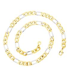 Buy BeBold Gold Stainless Steel Gold Plated Link Multicolor Chain for Boys and Men Other online