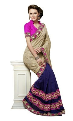 Triveni Phenomenal Party Wear Banarasi Jacquard Viscose Indian Ethnic Saree