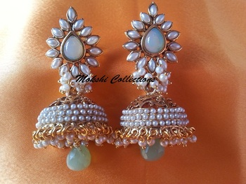Lovely Aashiqui-2 Earrings with pearl jhumkas